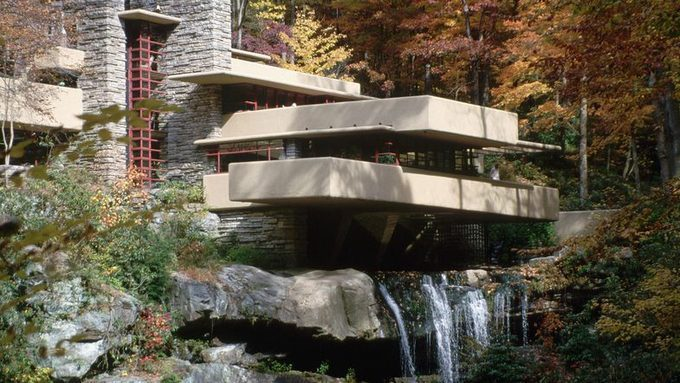 la maison sous cascade frank lloyd wright ventana blog. Black Bedroom Furniture Sets. Home Design Ideas